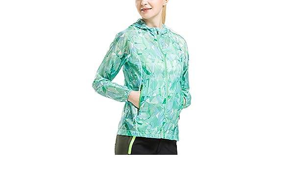 Zhuhaitf Women Windbreaker Sunscreen Breathable Clothing Coat Sports for Outdoor
