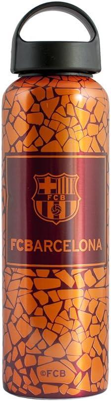 Alusport Bottles FCB Third Botella Deportiva de Aluminio, Hombre