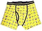 Cheap Nickelodeon Sponge Bob Square Pants Men's Boxer Briefs (X-Large)