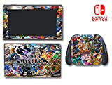 Super Smash Bros Ultimate Characters Zelda Video Game Vinyl Decal Skin Sticker Cover for Nintendo New 2DS XL System Console
