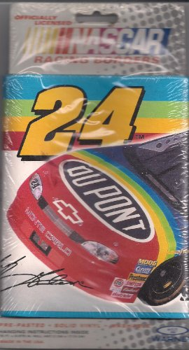 NASCAR, Jeff Gordon, Style # NAS24, Racing Borders, Pre-Pasted, Solid Vinyl, Washable, 1999 By JG Motorsports Inc. (15 ft X 6.875 in)