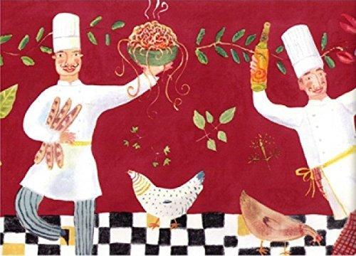 chef border red - 2