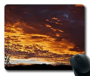 Design Mouse Pad Desktop Laptop Mousepads Fire Sky Comfortable Office Mouse Pad Mat Cute Gaming Mouse Pad by mcsharks