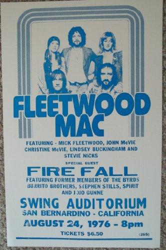 fleetwood mac poster - 6