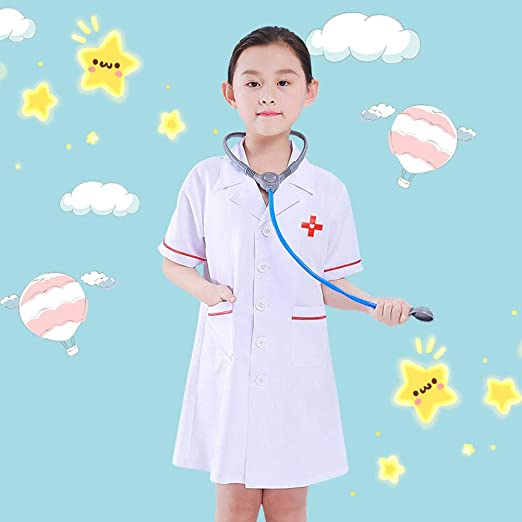 tackjoke Doctor Role-Play Set, Disfraz de médico Profesional para ...