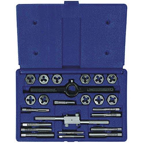 Irwin Industrial Tools 24614 Fractional Tap and Hex Die Set, (Fractional Die Set)