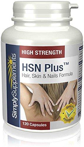 HSN Plus - 120 comprimidos - 2 meses de suministro -5 ingredientes para la salud