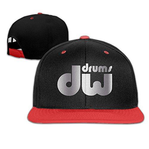 Xjgvi Dw Drum Music Logo Platinum Style Baseball Snapback Hat ()