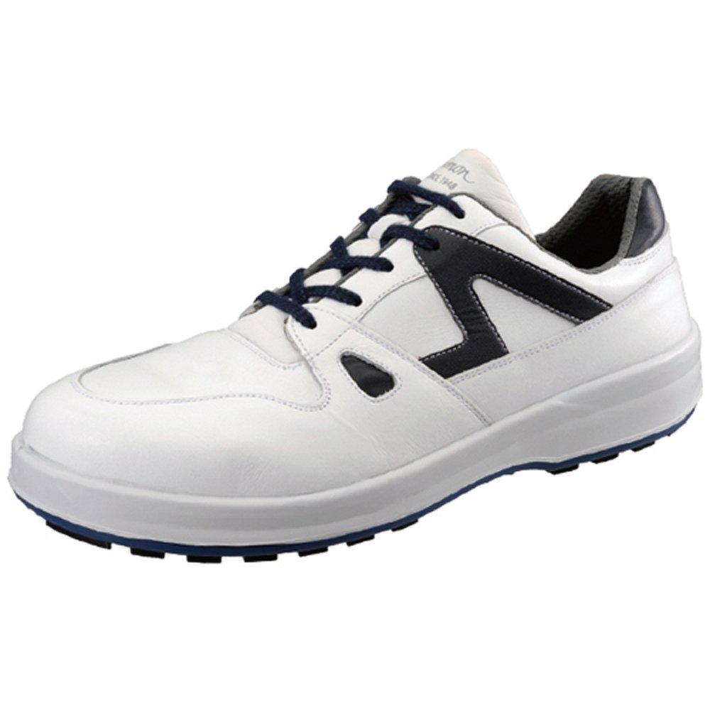 【8611】短靴 動きやすさにこだわったスニーカータイプモデル B075Z22TK6 26.5 cm|ホワイト/ブルー ホワイト/ブルー 26.5 cm