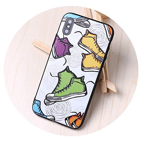 Amazon.com: Cool Cat Shoes Case for iPhone 7 6 6s Plus 5s ...