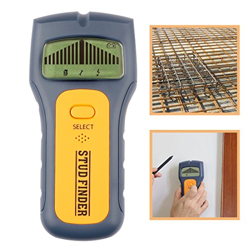 A-szcxtop Electrical Scanner Stud Finder Digital Metal Stud/Metal Detector for AC Wires. Pipes And Joints With Digital LCD Scanning Sensor by A-szcxtop
