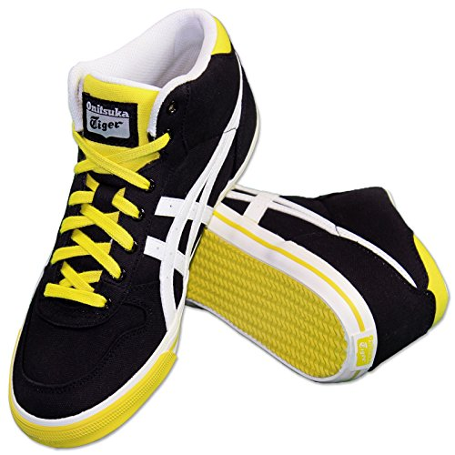 Onitsuka Tiger Zapatillas Aaron Mt Gs negro amarillo