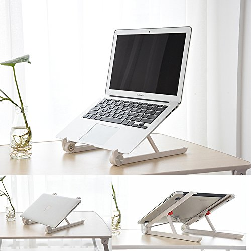 Elekin-Laptop-Stand-for-Desk-Laptop-Stand-Adjustable-Portable-for-LaptopNotebookipad-Light-Weight-Foldable-Adjustable-Height-Width-Angle