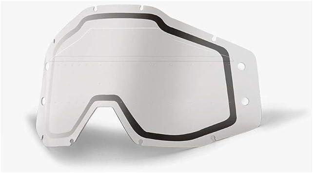 51121-510-02 ACCURI Forecast Lens Sonic Bumps-w//mud Visor-Clear Free Size 100/% Unisex-Adult Speedlab