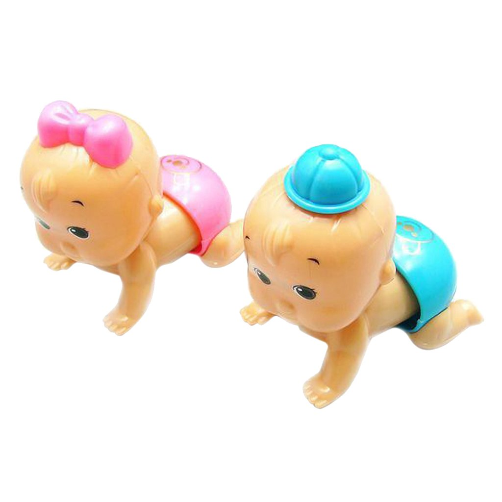Generic Niedlich Junge Oder Mädchen Aufziehtier Aufzieh Figur für Kinder Lernspielzeug