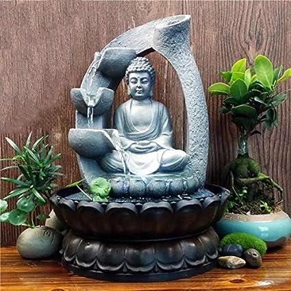 Decorative buckets   2 in 1 Buddha Water Fountain and Incense backflow  Smoke Fountain   Diwali 09bb53ac61