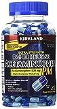 Cos11 Kirkland Signature Extra Strength Rapid Release Acetaminophen 500mg Pm Pain Fever Reducer Nighttime Sleep Aid 375 Gelcaps