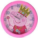 Peppa Pig 10'' Round Wall Clock in Open Window Box