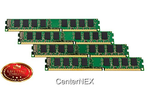 CenterNEX® 16GB Memory KIT (4 x 4GB) For Dell PowerVault Series NX300 NX3100. DIMM DDR3 ECC Registered PC3-10600 1333MHz Dual Rank RAM Memory. ()