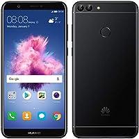 "Huawei P Smart 32Gb Dual Sim FIG-LX3 Pantalla 5.6"" Doble Camara Sensor de Huella Libre de Fabrica Version Internacional, Negro"