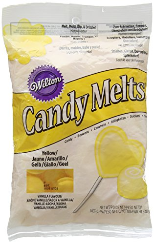 Wilton Yellow Candy Melts, 12-Ounce -