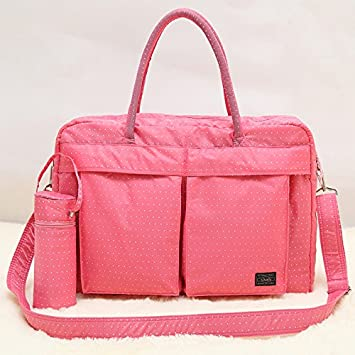 Amazon.com : Multifunctional Fashion Baby Diaper Bag Mummy ...