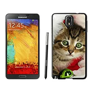 2014 Newest Christmas Cat Black Samsung Galaxy Note 3 Case 11