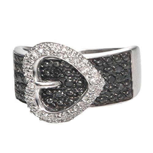 Black Diamond Buckle Ring - 1