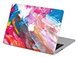 Customized Creative Flowing Color Series Colorful Paint Special Design Water Resistant Hard Case for Macbook Pro 13'' with Retina Display (Model A1425/a1502)