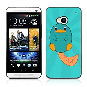 Designer Depo Hard Protection Case for HTC One M7 / Cute Creature