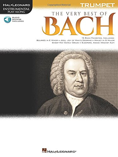 The Very Best of Bach: Instrumental Play-Along  for Trumpet