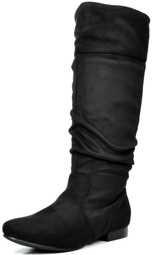 DREAM PAIRS Women's Knee High Boots (Wide-Calf)