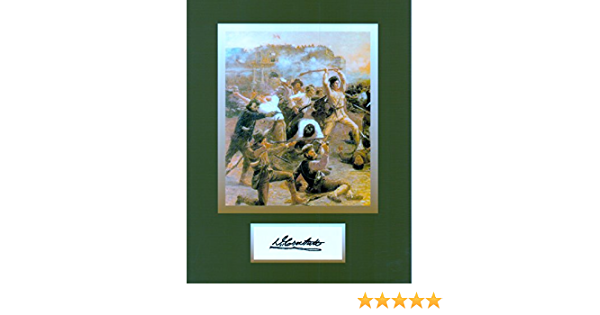 Davy Crockett 8 X 10 Autograph Photo on Glossy Photo Paper Famous Western Hero