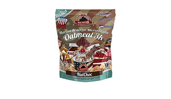 Max Protein Harina de Avena sabor Butter Peanut - 3 kg: Amazon.es: Alimentación y bebidas