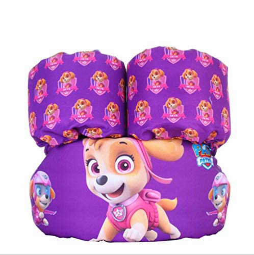 Kids Girls Boys Swim Vests Swim Floatation Vest Learn-to-Swim Device Weighing from 30 to 50 lbs (Purle Dog)