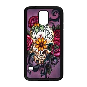 Personalized Vintage Skin Durable Rubber Material Samsung Galaxy s5 Case - Day of the Dead Sugar Skull