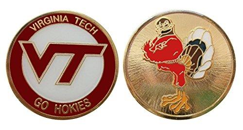 Virginia Tech University Go Hokies Challenge Coin