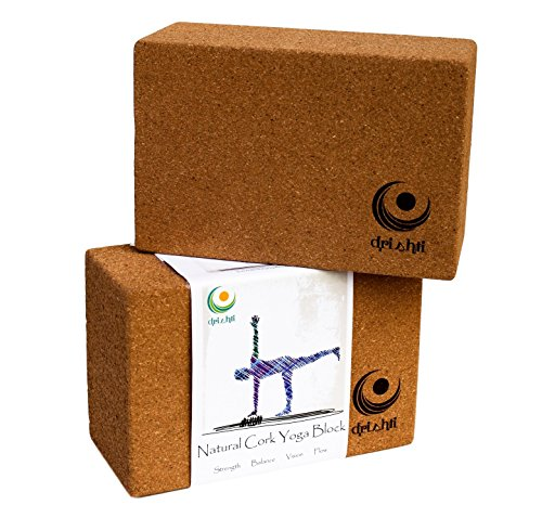 Drishti Natural Cork Yoga Block