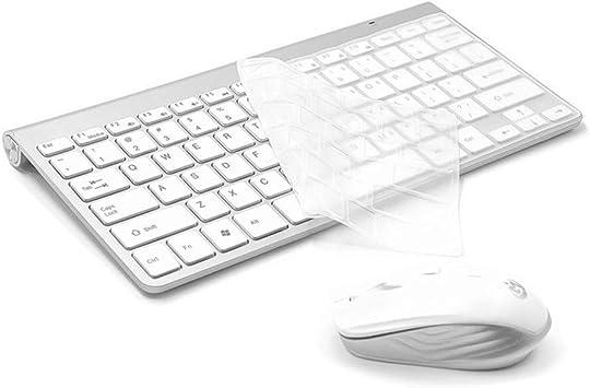 El teclado Juego Mouse Inalámbricos: Computadora Portátil ...