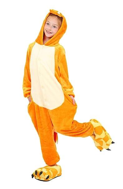 heekpek Pijamas Disfraces de Animales Niños Niñas Unisex Disfraces Cosplay Niños Cosplay Animales Pijamas para Ninos