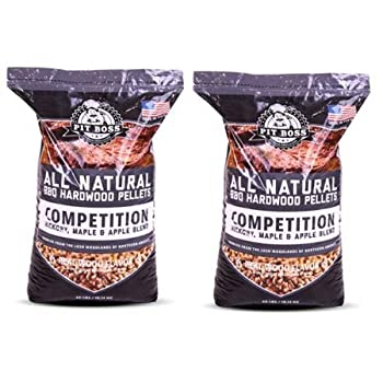 Pit Boss Competition Blend Wood Pellets For Smoking