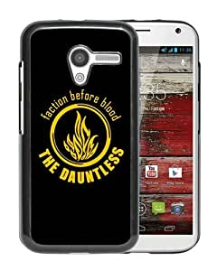 Popular Design Motorola Moto X Case Of The dauntless Black Customized Photo Design Motorola Moto X Phone Case