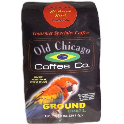 Brazilian Blackened Ground Espresso Coffee - Old Chicago Dark Roast Espresso From Brazil