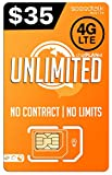 PREPAiD Unlimited | 3 in 1 SIM Card | 2G, 3G, 4G LTE | - Nationwide 4G LTE Network