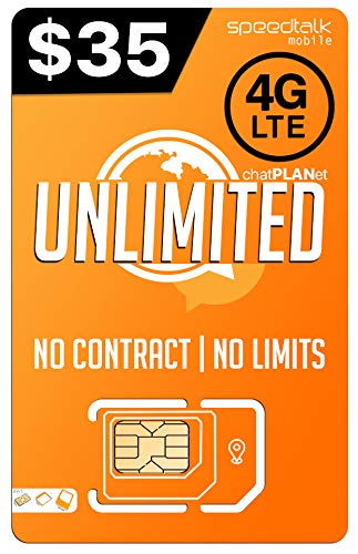 PREPAiD UNLiMITED | 3 in 1 SIM CARD | 2G, 3G, 4G LTE | - NATiONWIDE 4G LTE network by Padfender