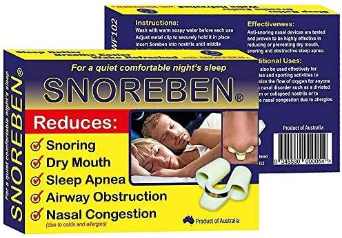 Amazon Com Snoreben Sleep And Snoring Aids Stop Snoring Nasal