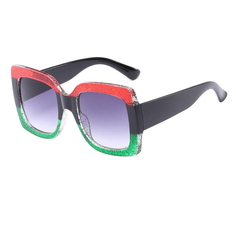 Amazon.com : YLNJYJ Nuevas Gafas De Sol Cuadradas De Gran ...