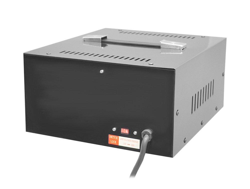 Pyle 5 Plug voltage converter Step Up and Down AC 110/220 Volts Transformer, 5000 Watt by Pyle (Image #2)