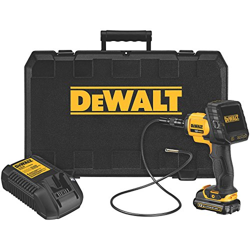 DEWALT DCT412S1 12-Volt Li-Ion 5.8mm Inspection Camera with Wireless Screen Kit