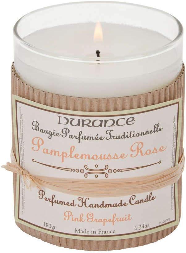 DURANCE Bougie Artisanale Parfum/ée Pamplemousse